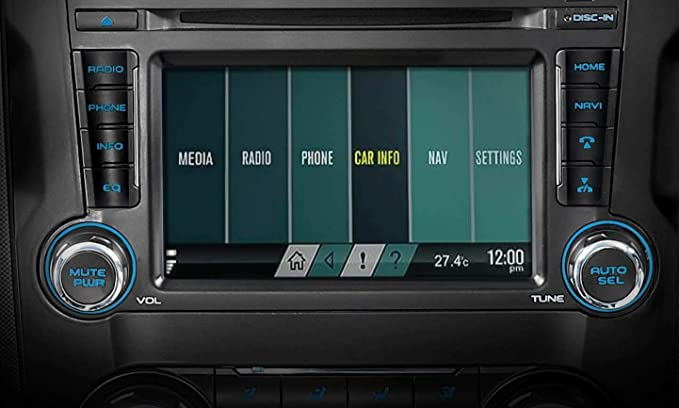 7 inches Touchscreen infotainment system